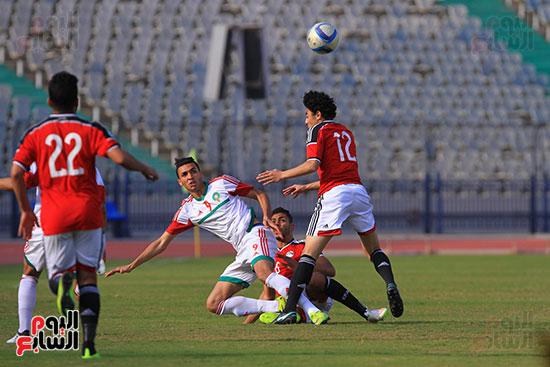 منتخب مصر للشباب والمغرب (21)