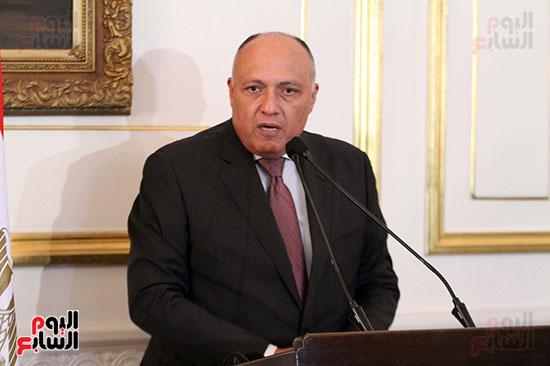 وزير الخارجية سامح شكرى (8)