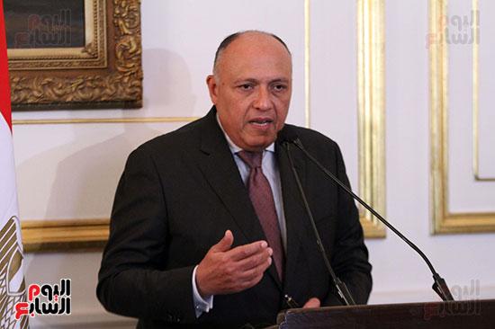وزير الخارجية سامح شكرى (4)