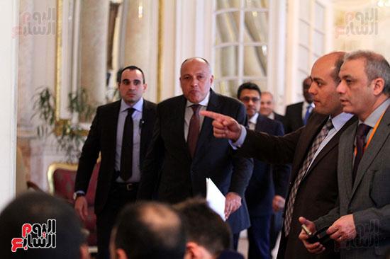 وزير الخارجية سامح شكرى (2)
