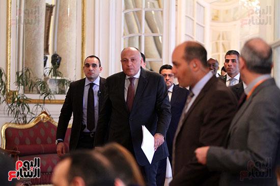 وزير الخارجية سامح شكرى (3)