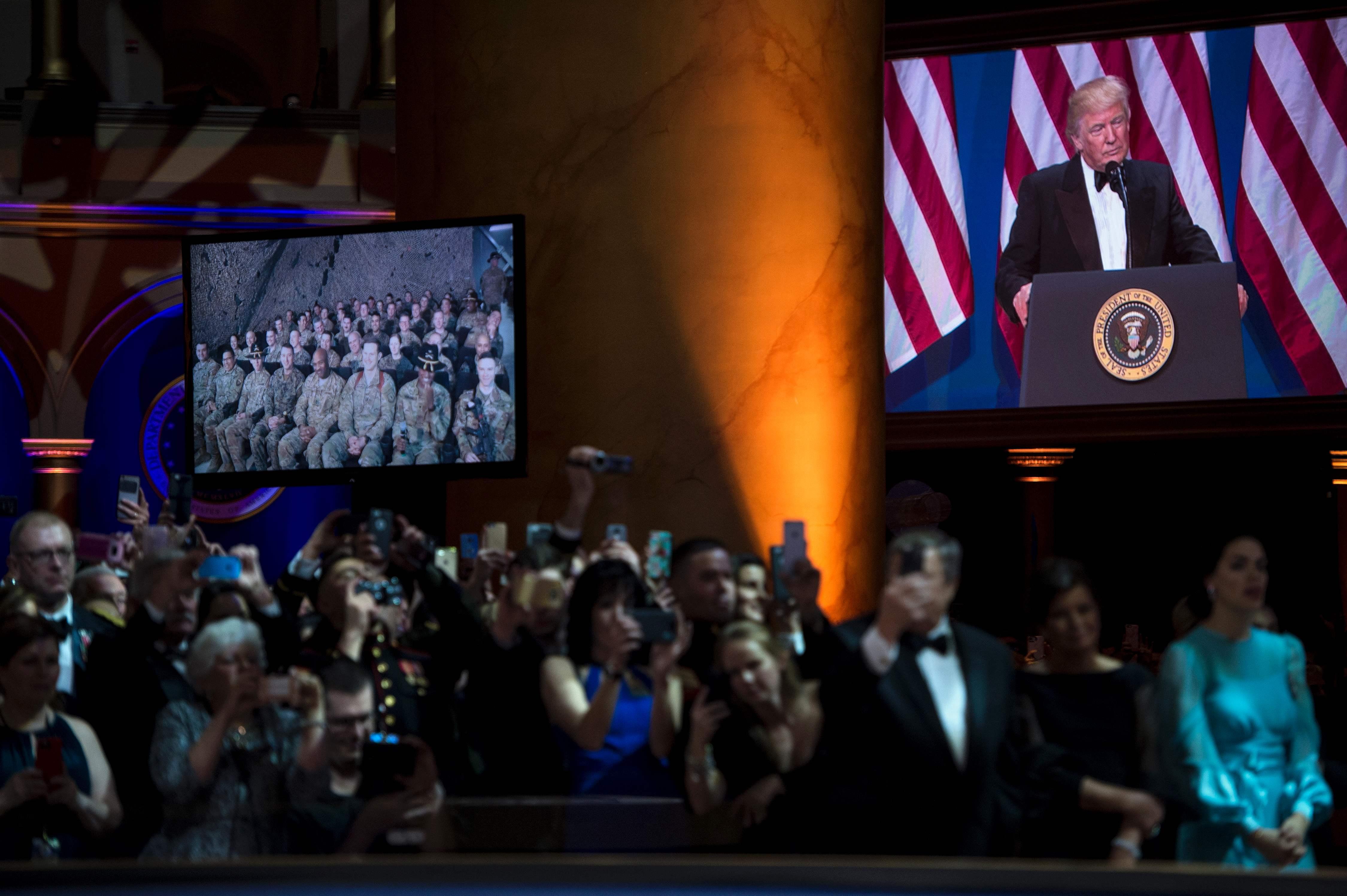 ترامب يوجه كلمة للجنود الأمريكيين فى أفغانستان