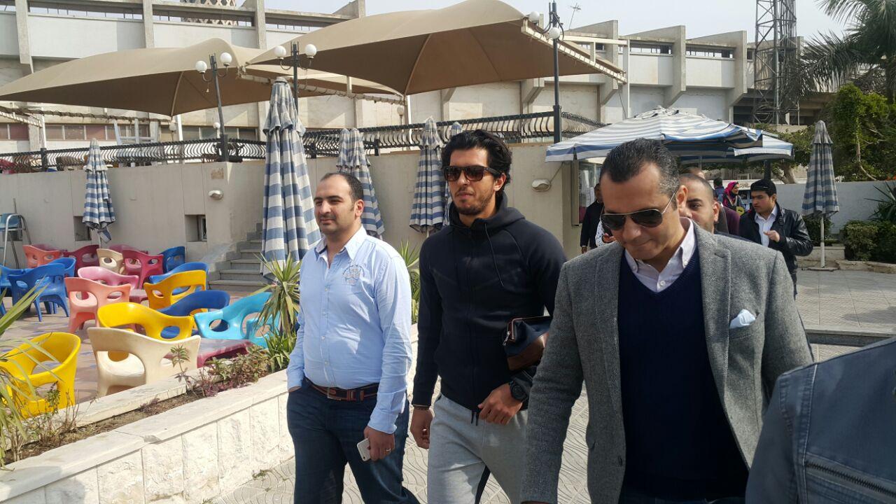 جانب من حضور عمرو بركات