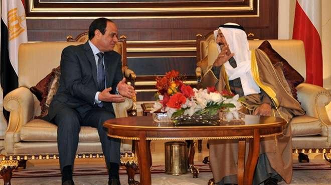 الرئيس السيسى وأمير الكويت