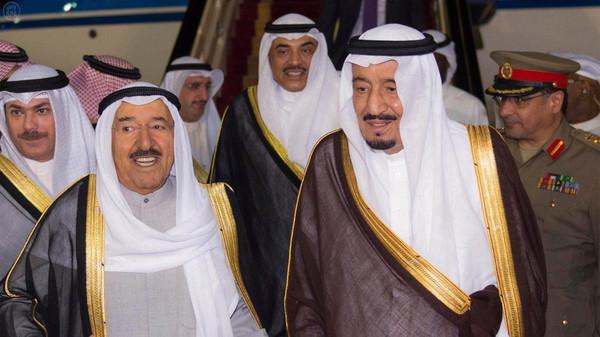 العاهل السعودى أمير الكويت