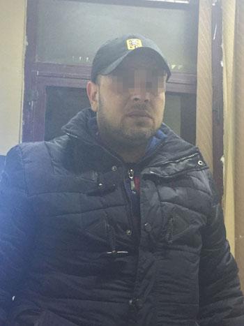 المتهم الثانى بسرقة مسجد الرفاعى.