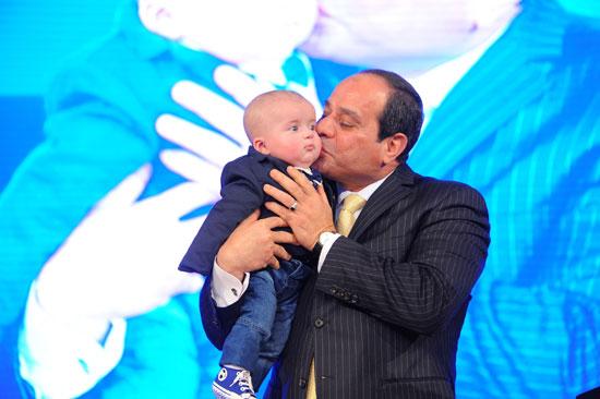 السيسى فى احتفالات عيد الشرطة 65 (46)