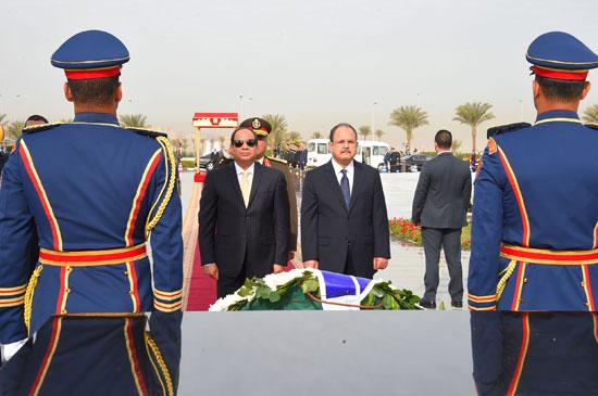 السيسى فى احتفالات عيد الشرطة 65 (4)