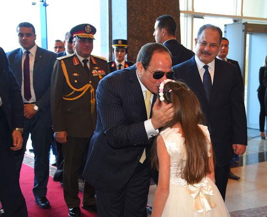 السيسى فى احتفالات عيد الشرطة 65 (10)