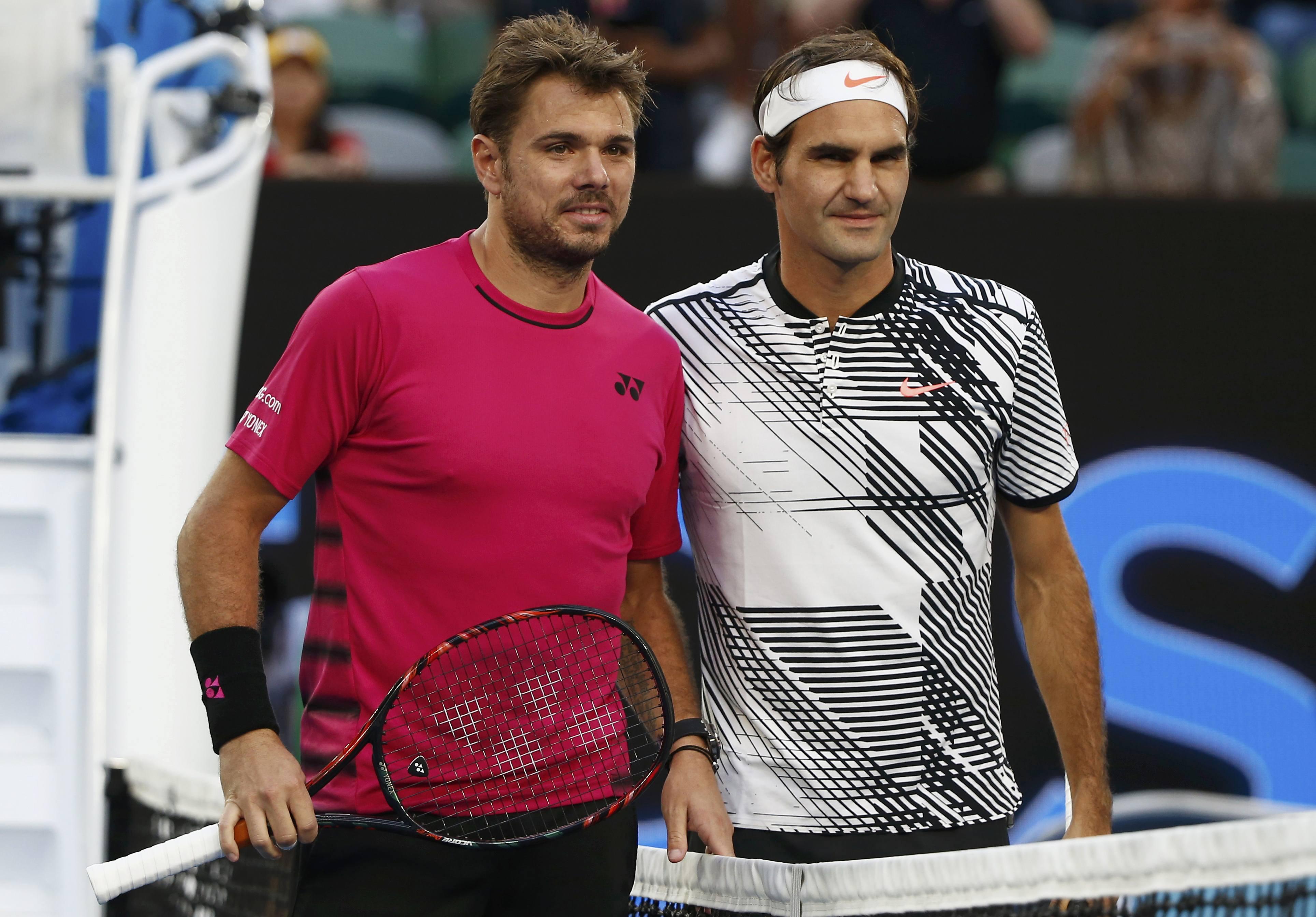 مواجهة جديدة بين نادال وفيدرر في نهائي بطولة استراليا المفتوحة للتنس
