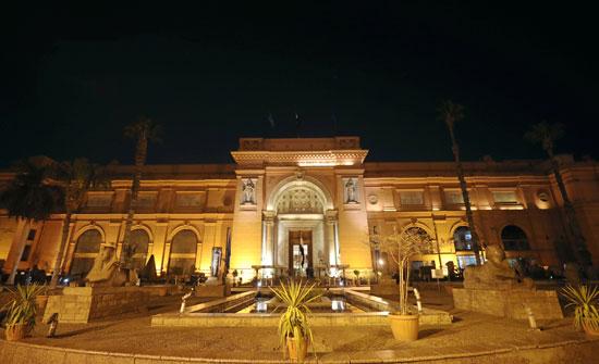 صورة للمتحف المصرى من الخارج