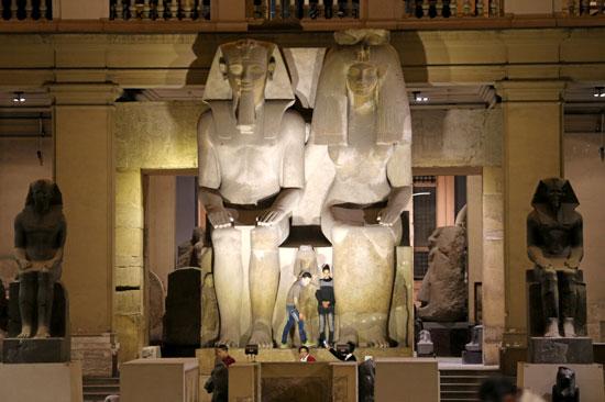 المتحف المصرى من الداخل