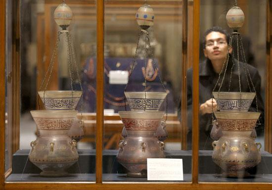 جانب من متحف الفن الاسلامى