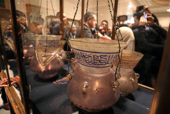 التحف الفنية بالمتحف المصرى