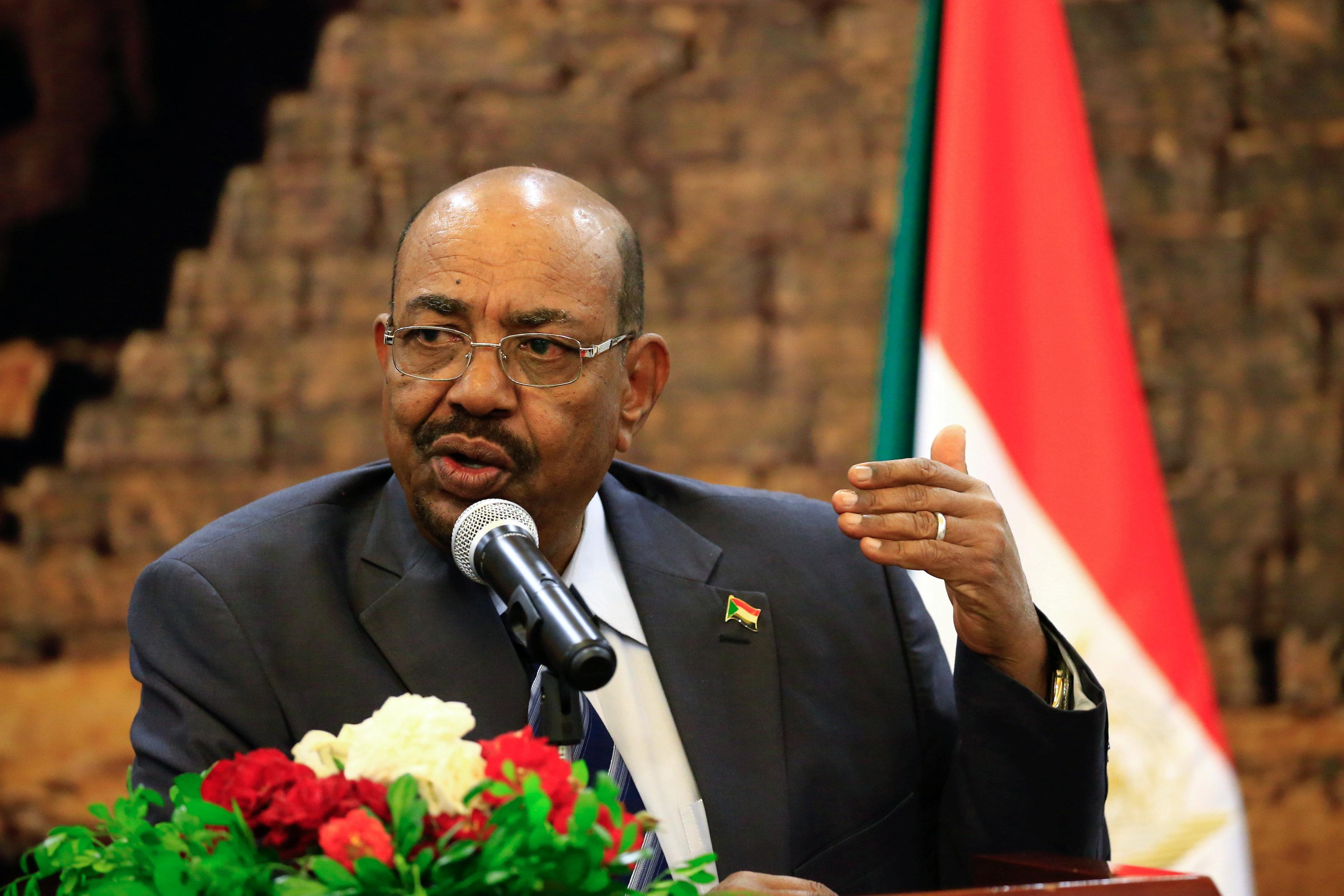 الرئيس السوداني حسن البشير