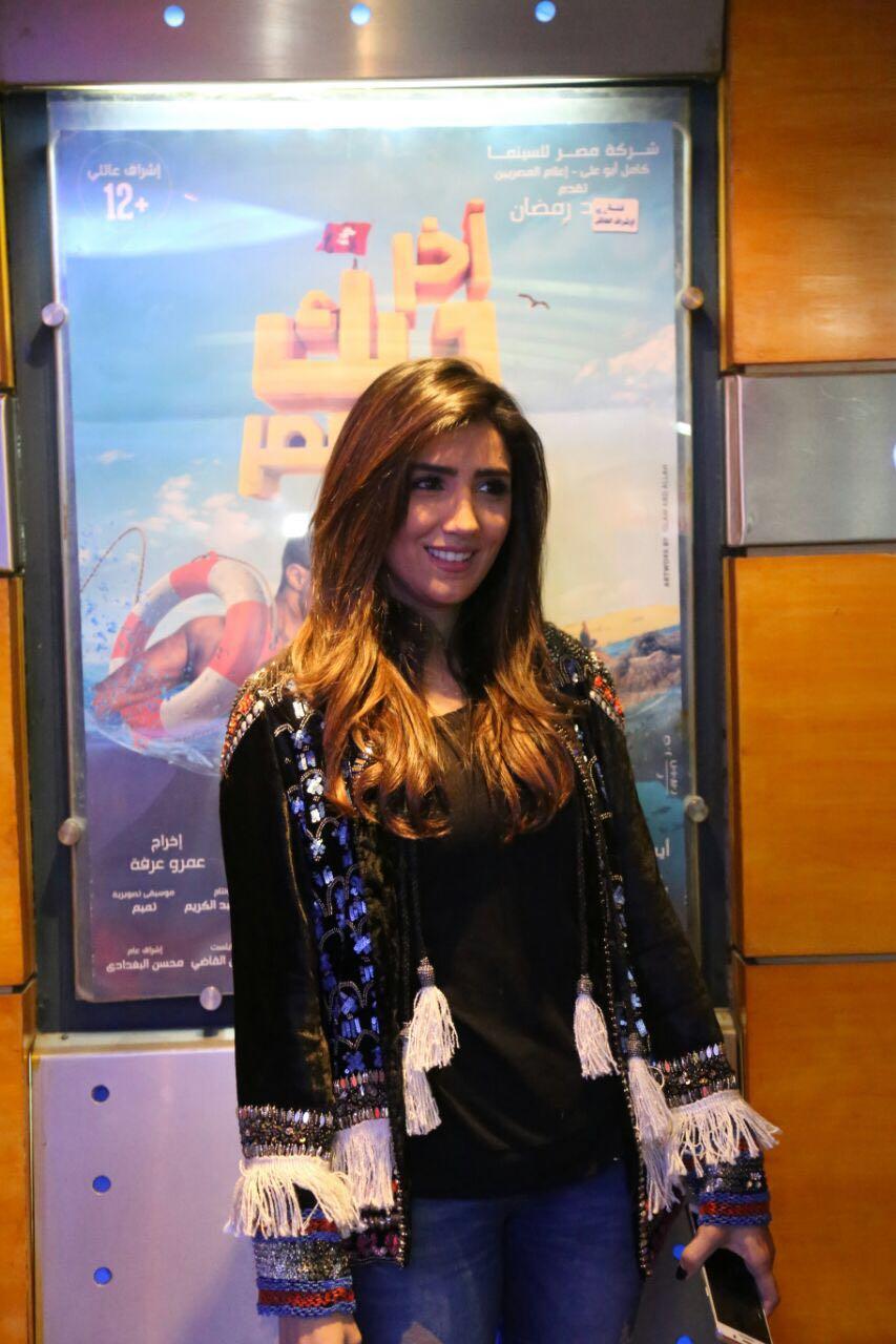 بالصور نجمات آخر ديك فى مصر يشاهدن الفيلم مع الجمهور اليوم