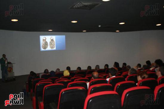 معرض ومحاضرة حول أعمال الفنان والأثرى الشهير جون ألفريد سبرنجر بالمكتبة