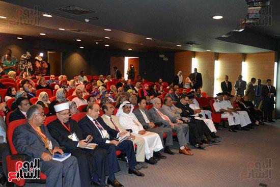 فعاليات المؤتمر الدولى للجمعيه العربيه للحضاره اليوم بالمكتبه