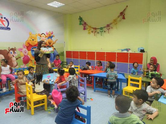 إنشاء أول أكاديمية نموذجية متطورة للطفل داخل المكتبة