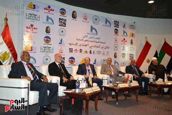 فعاليات مؤتمر الجمعية العربية للحضارة والفنون الإسلامية بالمكتبة