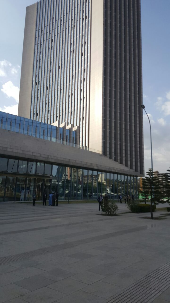 1 مقر الاتحاد الافريقي