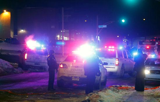 قوات الأمن الكندية تنتشر بمحيط المسجد