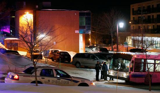 انتشار قوات الأمن الكندية بمحيط المسجد