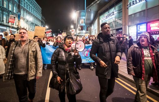 مظاهرات ليدز