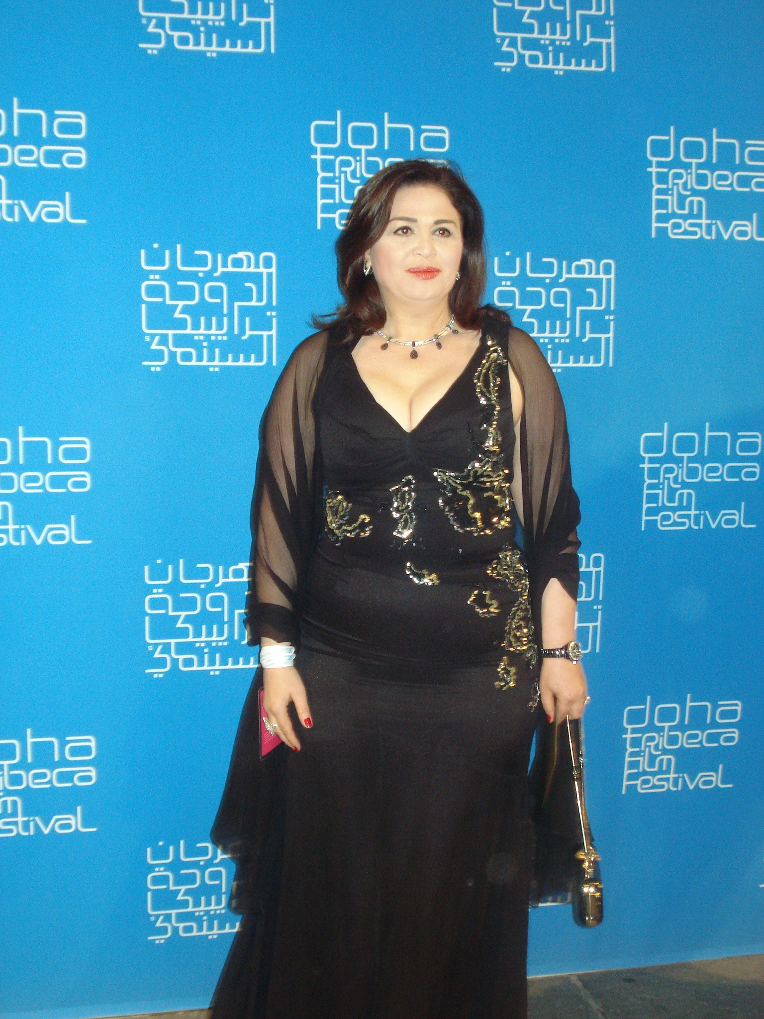 إلهام شاهين في مهرجان الدوحة