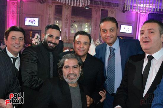 فؤاد يتوسط احمد ايوب واحمد سعد ومحمد عبد المنعم