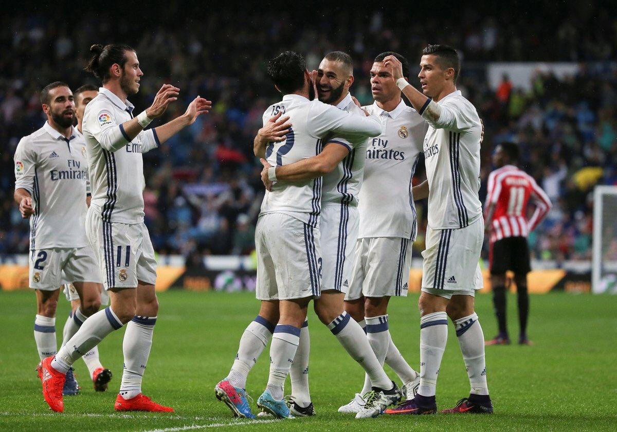 ريال مدريد متصدر ترتيب الدوري الاسباني