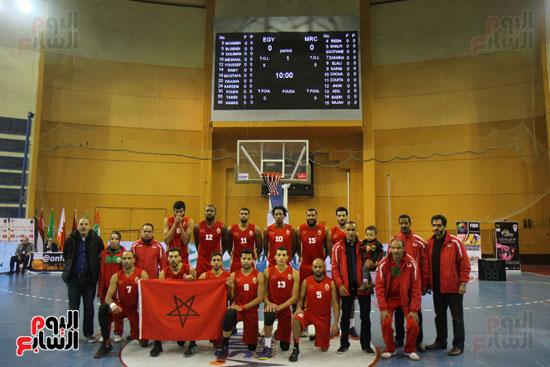 -منتخب المغرب لكرة السلة