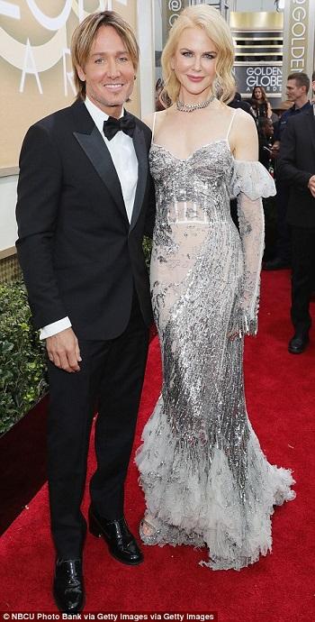 نيكول كيدمان و زوجها كيث أوربان