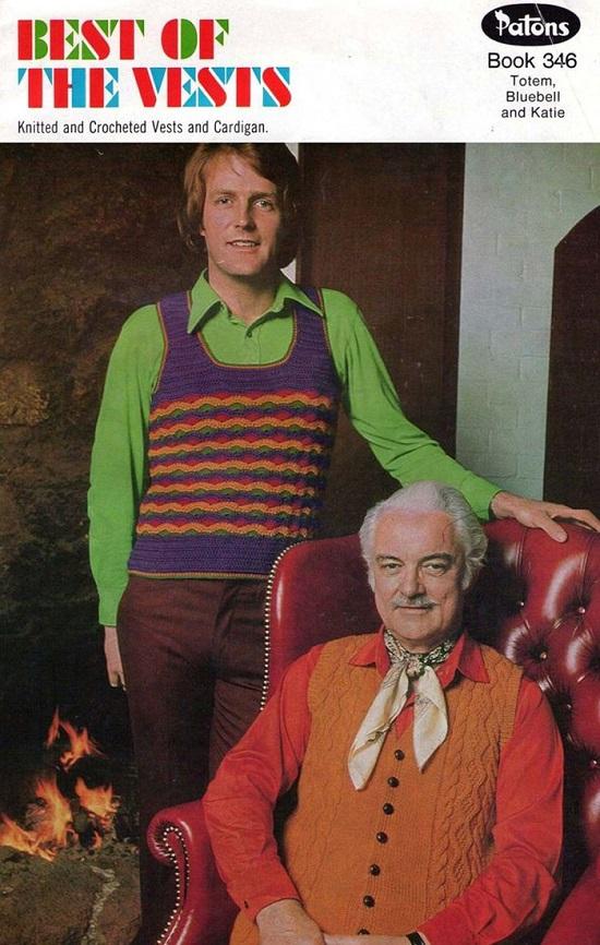الألوان الزاهية أغرب أشكال الموضة الرجالية فى السبعينيات