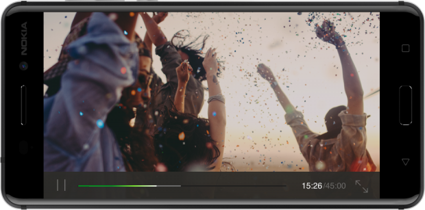 Nokia-6 شاشة