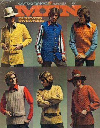 الموضة الرجالى فى السبعينيات