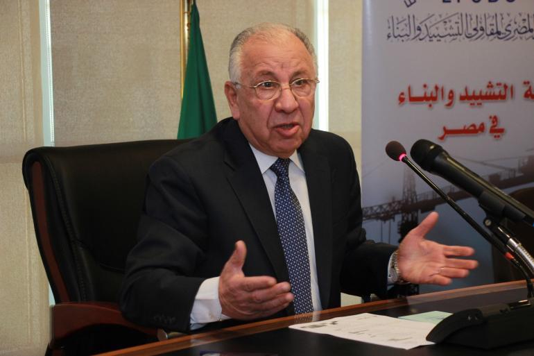 حسن عبدالعزيز رئيس اتحاد مقاولي التشييد والبناء