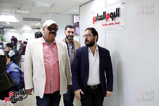 على الكشوطى وداوود حسين وأحمد إيراج فى اليوم السابع