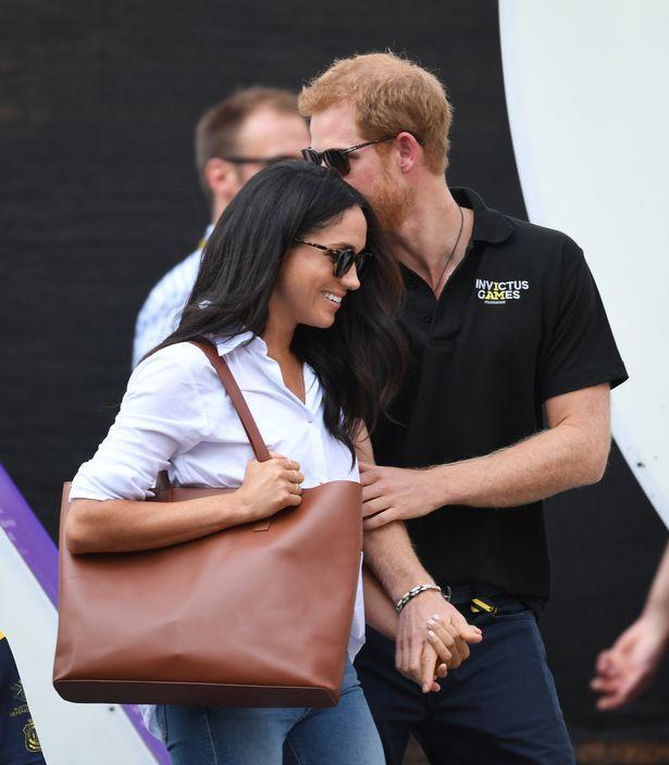 الأمير هارى برفقة صديقته ميجان ماركل