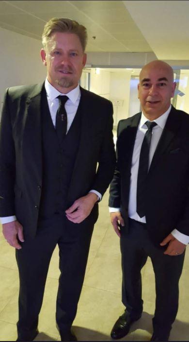 حسام حسن مع شمايكل