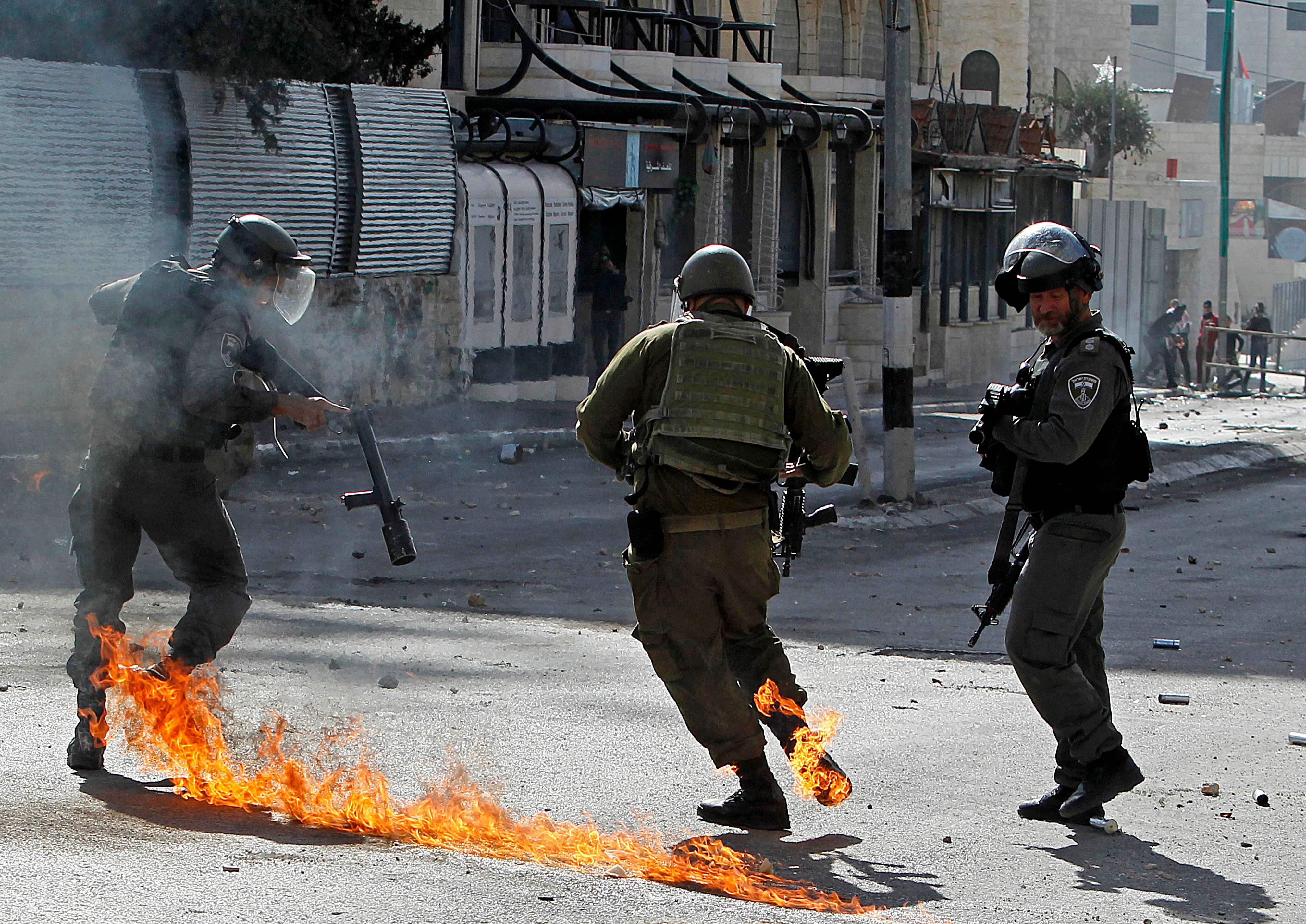 جانب من قوات الاحتلال الإسرائيلى