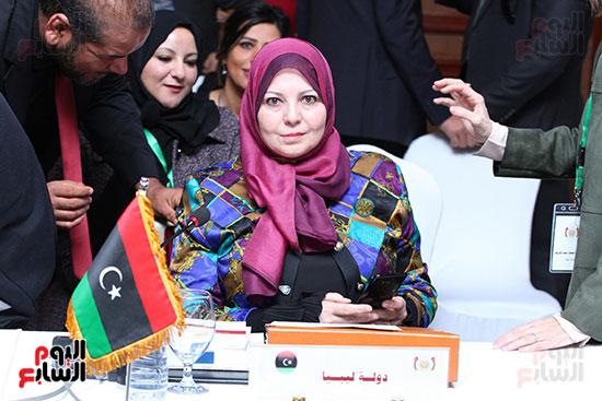 صور الاجتماع الثامن للمجلس الاعلى لمنظمه المرأه العربيه (9)