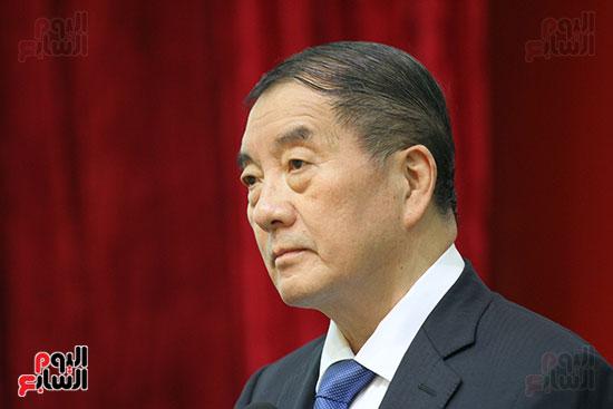 صور الصالون الصينى المنعقد فى السفارة تحت عنوان ذكرياتى مع الصين (8)