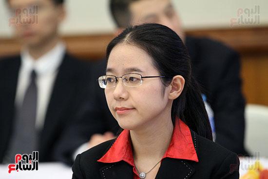 صور الصالون الصينى المنعقد فى السفارة تحت عنوان ذكرياتى مع الصين (6)
