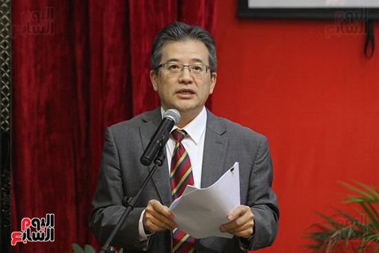 صور الصالون الصينى المنعقد فى السفارة تحت عنوان ذكرياتى مع الصين (67)
