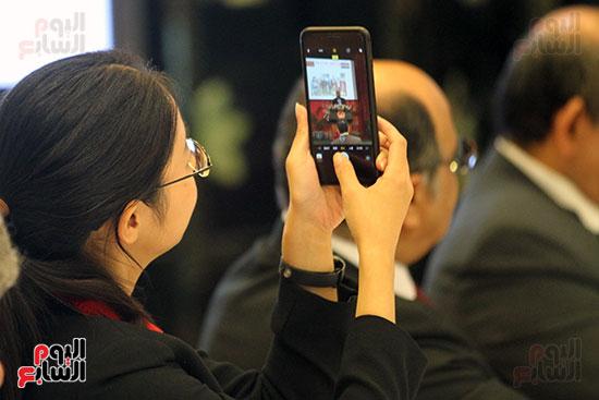 صور الصالون الصينى المنعقد فى السفارة تحت عنوان ذكرياتى مع الصين (29)