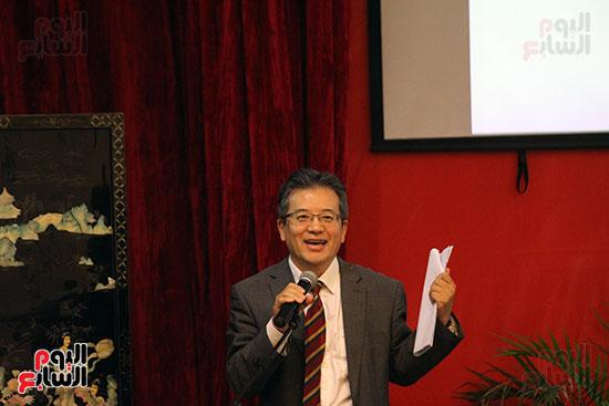 صور الصالون الصينى المنعقد فى السفارة تحت عنوان ذكرياتى مع الصين (23)
