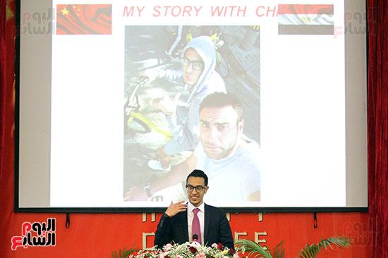 صور الصالون الصينى المنعقد فى السفارة تحت عنوان ذكرياتى مع الصين (40)