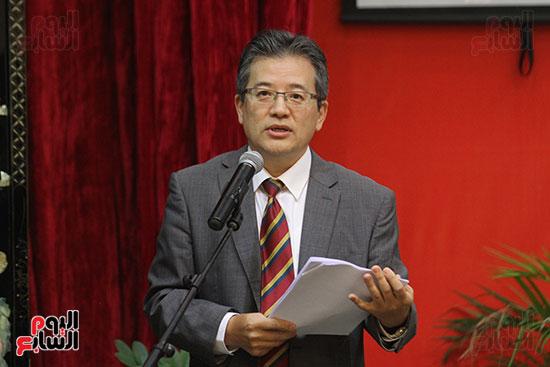 صور الصالون الصينى المنعقد فى السفارة تحت عنوان ذكرياتى مع الصين (66)
