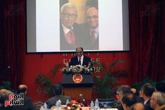 صور الصالون الصينى المنعقد فى السفارة تحت عنوان ذكرياتى مع الصين (21)